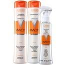 vivacity reflex blond camomila kit (3 produtos)