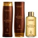 keratin healing oil treatment kit (3 produtos)