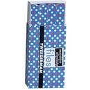 matchbox files hot for dots azul - mini lixas de unhas